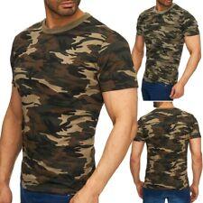 6e477c2594298b Herren camouflage T-Shirt Superior Oberteil kurzarm Army stretch Tarnmuster