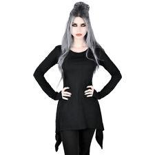 Killstar Gothic Goth Okkult Langarm Top Oberteil - Cora Gothbottom