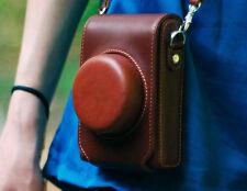 Leather Camera Case Bag For Panasonic Lumix DMC-LX7 LX5 Leica D-LUX6 LUX5