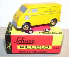 MICRO METAL SCHUCO PICCOLO 1/90 DKW DEUTSCHE PTT POSTE NO HO REF 1552 BOX