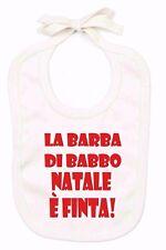 BAVAGLINO ORGANICO COLOR NATURAL PER NATALE: BARBA