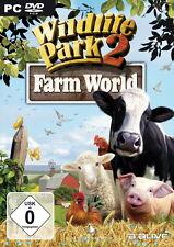 Wildlife Park 2 Farm World PC dans DVD Housse Complet. allemand TOP