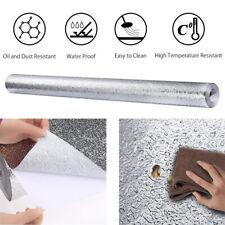 Premium Aluminum Foil Wall Paper Self-Adhesive Backsplash Heat Kitchen Wallpaper