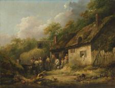 "George Morland : ""The Bell Inn"" (late 1780s) — Giclee Fine Art Print"