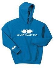 SQUAW VALLEY USA  Gildan Hoodie Sweat Shirt Snow Ski Boarding Sports Gift S-5X