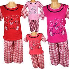 Femmes pyjama Bermuda trois quart pantalon pyjama original NEUF
