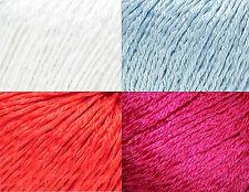 Filatura di Crosa Brilla Cotton Blend Yarn Color Choice Knit Crochet FS Offer