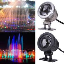 RGB Underwater LED Light Remote Control Swimming Pool Waterproof Lamp 10W
