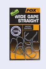 Fox Edges Arma Point Wide Gape Straight Micro Barbed Carp Hooks