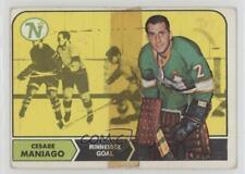 1968-69 Topps #45 Cesare Maniago Minnesota North Stars Hockey Card
