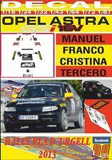 DECAL OPEL ASTRA GSi MANUEL FRANCO RALLY PLA D´URGELL 2013 (07)