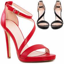 Scarpe donna cinturino eleganti sandali decoltè tacchi alti TOOCOOL 2B4L2851