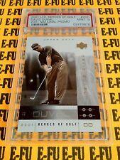 2001 UD Heroes of Golf #200 Promo DAVID DUVAL Graded PSA 9 Mint