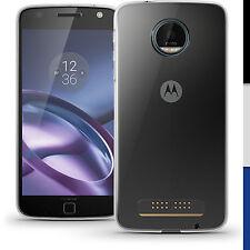 Glossy TPU Gel Case for Motorola Moto Z Play Skin Cover + Screen Protector