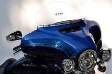 "Harley Davidson 10"" Windshield / Street Glide / Tri-Glide for 2014 to 2018"