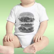 Body Neonato Unisex Panino America Hamburger Big Grande Idea Regalo