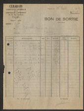 """TOURS (37) USINE DE CERAMIQUE pour BATIMENT """"CERABATI"""" 1950"""