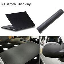 30x 127cm Auto DIY 3D Carbon Fiber Vinyl Autofolie Folie Film Sticker Aufkleber