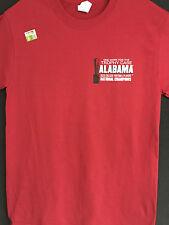 University of Alabama 2015 National Championship Short Sleeve Crimson Tee