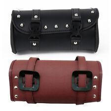 Motorcycle Left Saddlebag Tool Bag Mounting Straps Synthetic Leather Saddlebag