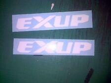 Exup Yamaha 150mm Fairing Decal Sticker R6 R1 All Colours