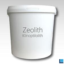 ZEOLITH XXL Kunststoffeimer Zeolithpulver Pulver Zeolite Zeolit powder
