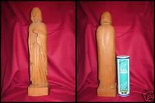 STATUE RELIGIEUSE / JESUS / CHENE /ANNEE 1970/H.43cm