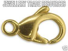 Mosquetón gatillo joyas de oro amarillo 9ct Cierre Hebilla 18mm Collar O Pulsera