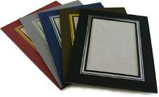 Photo Strut Mount Kenro Cardboard Picture Holders Black Brown GreyWhite Red Blue