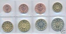 Portugal 2005 euro-jeu 1 cents - 2 € complètement unz. - garanti dans münzhülle