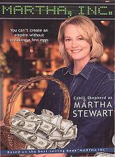 Martha, Inc. (DVD, 2004)Tim Matheson, Joanna Cassidy, Cybill Shepherd