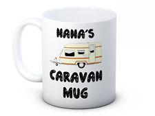 Grandads Grandmas Caravan High Quality Coffee Tea Mug - Can be Personalised