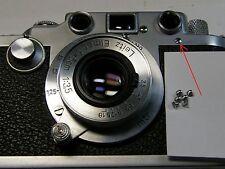 6 screws set for Leica body 3f 3c 3a Repair parts Chrome