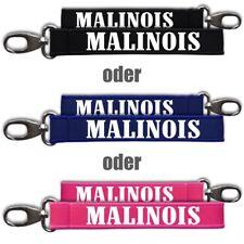 Neopren Anhänger Schlüsselband Malinois Mechelaar Belgischer Schäferhund dog