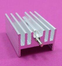 20 x 15 x 11mm ALLUMINIO DISSIPATORE DI CALORE RADIATORE to-220 transistor con ago