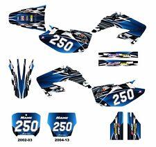 CR 125 250 graphics 2002 2003 2004 2005 2006 2007 - 2013 sticker kit #2500 Blue