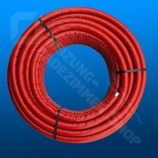 Mehrschichtverbundrohr rot isoliert 10mm Verbundrohr 20 x 2 mm DVGW 2,30€/m