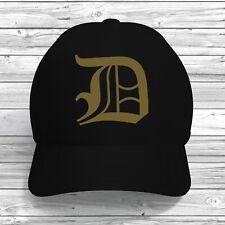 D Initial Baseball Cap Adjustable Custom Print Colour Text Hat Alphabet Letter