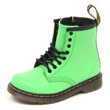 E4942 (WITHOUT BOX) anfibio bimbo green DR. MARTENS scarpe shoe boot baby kid