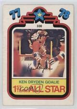 1978-79 O-Pee-Chee #330 Ken Dryden Montreal Canadiens Hockey Card