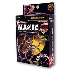 Linking Rings (DVD and 4 Ring Set) by Shoot Ogawa and Fantasma Magic