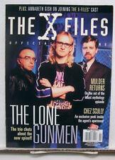 2001 X-FILES Official Magazine #1-LONE GUNMEN/Cover B