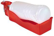 TRIXIE Travel-Walking-Cane da campeggio Bottiglia D'Acqua con Ciotola in plastica - - 3 Taglie