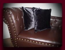 Kissen Kissenhülle Dekokissen im Glanz - Design Farbe schwarz