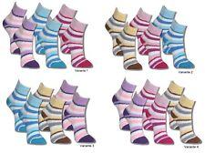 6 Paar bunte Kuschelsocken Socken Flauschsocken Bettsocken Damen Mädchen Ringel