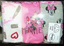 Onorevoli 3 PK DISNEY SLIP / Pantaloncini in Minnie Mouse, DAISY DUCK o 101 dalmations