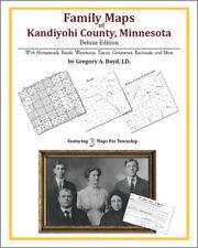 Family Maps Kandiyohi County Minnesota Genealogy Plat