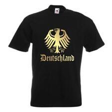 T-Shirt DEUTSCHLAND, Ländershirt mit Bundesadler (WMS07-03a)