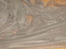 TAUPE - SOFT TULLE/ NET DRESS FABRIC-FREE UK POSTAGE