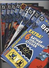 BATMAN (deutsch) # 20+21+22+23+24+25+26+27+28 - DINO VERLAG 1998 / 1999  - TOP